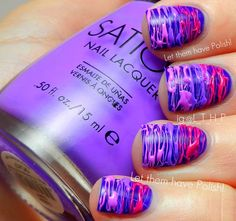 Let them have Polish!: 31 Day Challenge 2012! Day Six: Violet Nails