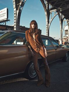{ Editorial | Waits Patiently In Manhattan Transfer } Vogue Paris February 2015
