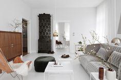 Eine Designerin und ein Pfarrer verleihen einer alten Mühlenwohnung Ruhe und Leichtigkeit – mit eleganter Hilfe von Studio Oink.