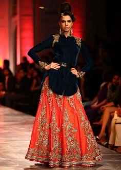 Models walking the runways for designer Neeta Lulla at Indian Bridal Week at Mumbai 25 - Kalkifashion.com