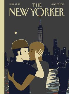 "The New Yorker - Monday, June 27, 2016 - Issue # 4644 - Vol. 92 - N° 19 - Cover ""Love"" by Frank Viva"