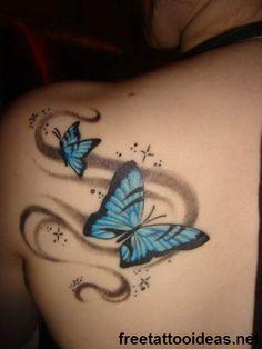 butter fly ink - http://www.freetattooideas.net/butterfly-tattoos/