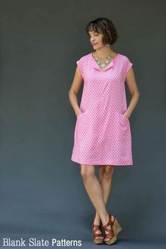 Leralynn Dress - Blank Slate Patterns