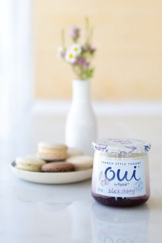 Say Oui to Black Cherry Oui by Yoplait. A subtly sweet, fresh tasting, French style yogurt.