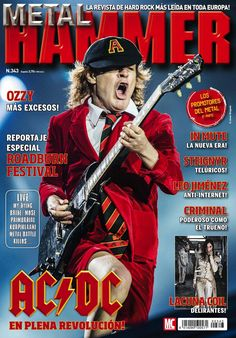 #Metal Hammer 343. AC/DC en plena revolución. Especial #festivales de verano.
