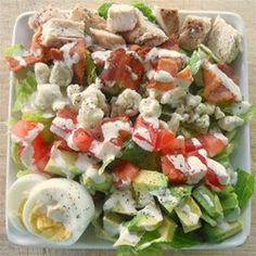 Cobb Salad | Quite possibly the ultimate dinner salad!