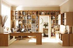 Study Furniture - Bespoke Home Study Furniture - Neville Johnson