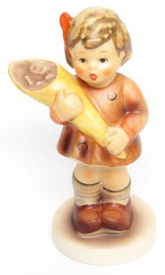 "MI Hummel Goebel Figurine ""A Sweet Offering "" Hum 549 3/0 TMK 7 with COA and Box"