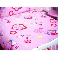 GIRLS CHILDRENS PEPPA PIG FLEECE BLANKETS  BED BABY TODDLER PUSHCHAIR COTBED