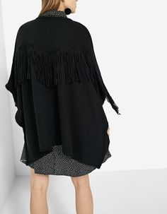 At Stradivarius you'll find 1 Fringed cape for just 4914 Japan . Visit now to discover this and more Knitwear.