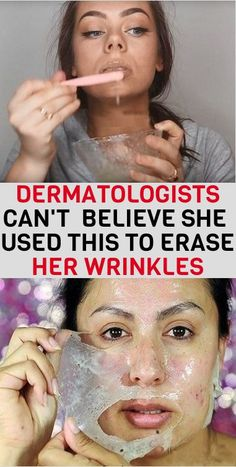 DERMATOLOGISTS CAN'T BELIEVE SHE USED THIS TO ERASE HER WRINKLES – Home Remedies #homeremediesfordiabetes