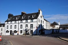 The George Hotel Inveraray on the banks of Loch Fyne great beer, food and an amazing whisky selection.