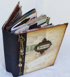 Travel Journal by sugarcanetrain808 on Etsy, $155.00