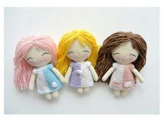 Amigurumi Doll Pattern PDF