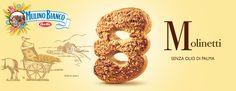 Molinetti - Mulino Bianco Biscotti, Cookies, Italian Cuisine, Crack Crackers, Biscuits, Cookie Recipes, Cookie, Biscuit