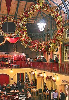 Christmas,Covent Garden,London