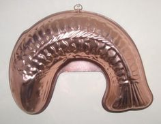 """Large Copper (Curved) Fish Shaped Jello Mold 5.5 Cups - 13"""" Unknown http://www.amazon.com/dp/B00D6WLSVY/ref=cm_sw_r_pi_dp_hOAovb0VPGQT2"""