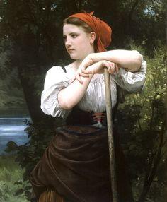 William Bouguereau - La faneuse