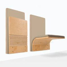 A little fold down seat that you mount to the wall. JumpSeat Wall by Ziba Design Public Spaces Seating - Sedia Systems