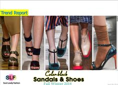 Color-block Sandals & #Shoes Trend for Fall Winter 2014  #Fall2014 #FW2014 #Colorblock #Trends
