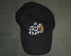 Mens Black, Silver LE TOUR DE FRANCE NIKE Embroidered Hat, Adjustable Strap, GUC…