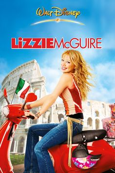 Teen queen Lizzie McGuire grows up a bit and hits the big screen in this comedy drama, based on the popular Disney Network series. Lizzie McGuire and Teen Movies, Hd Movies, Movies To Watch, Movies Online, 2000s Kids Movies, Teen Romance Movies, Girly Movies, Movies 2019, Hilary Duff