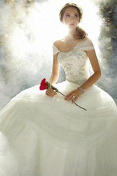 My Love Make: Vestidos de noivas das princesas da Disney