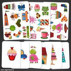 ¿En cuál de estos 5 tableros encontramos cada una de las imágenes? http://activitea.es/actividades-imprimibles/atencion/