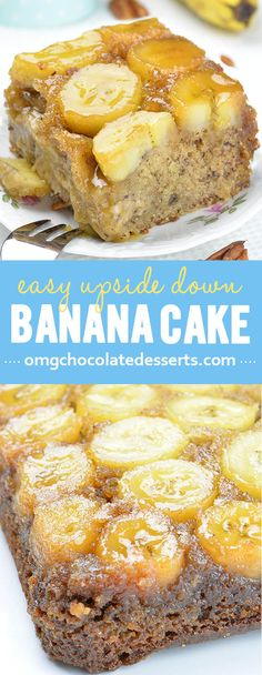 Do you love banana bread ??? Try this upside down banana cake that would satisfy any banana bread lover!