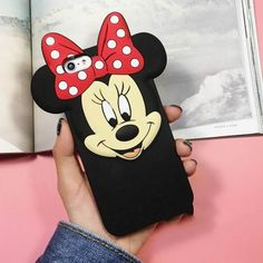 LOVECOM New Cartoon Image Soft Silicon Phone Back Coque Cover For iPhone 6 6S 6Plus 6SPlus Cute Mickey Minnie Phone Case