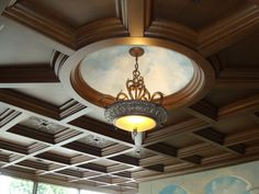WoodGrid Coffered Ceilings by Midwestern Wood Products Co. for ...  very common in victorian homes,  ceilings like this lend a formality to the space