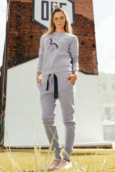 SPODNIE DRESOWE  | fashion, style, gymsuit, streetstyle, women fashion,  lifestyle, sweatpants, jogger, track suit, moda |