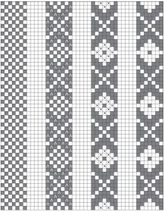 "Design basics for ""Baltic"" or ""speckled"" pick-up patterns. I highly recommend this article! Design basics for Baltic or speckled pick-up patterns. I highly recommend this article! Loom Bracelet Patterns, Bead Loom Bracelets, Bead Loom Patterns, Beaded Jewelry Patterns, Inkle Weaving Patterns, Card Weaving, Tablet Weaving, Bead Loom Designs, Inkle Loom"