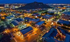Tempe, AZ.  Home sweet home.