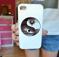 Yin Yang Case from Good Vibe Cases Iphone 5s Phone Cases, Cool Iphone Cases, Cool Cases, Cute Phone Cases, Diy Phone Case, 5s Cases, Phone Covers, Ipod, Apple Products