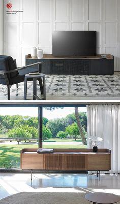 Das Design TV Lowboard Stockholm Von Punt Kann Man Als Boden, Wand Oder  Stand Variation