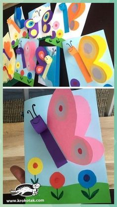 Kindergarten Art Preschool Art Summer Crafts Spring Crafts For Kids Art For Kids Spring Art Summer Art Grade Art Art Activities Kids Crafts, Spring Crafts For Kids, Summer Crafts, Toddler Crafts, Diy Craft Projects, Easter Crafts, Projects For Kids, Art For Kids, Diy And Crafts