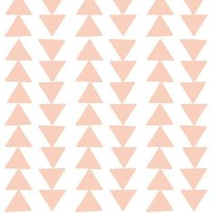 coral triangle chain fabric by coramaedesign on Spoonflower - custom fabric