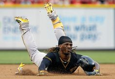 July 20, 2013 — The Reds staged a four-run first inning against A.J. Burnett.  Garrett Jones and Andrew McCutchen homered - but it wasn't enough as Aroldis Chapman ended a treacherous ninth with consecutive K's and Cincy moved within two games of the second-place Bucs.  Reds 5, Pirates 4.