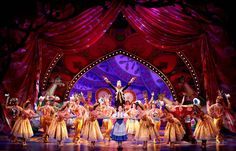 See the Beauty and The Beast-Broadway (hopefully I've dropped enough birthday hints to Tim)