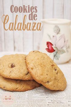 Cookies de Calabaza para Halloween... que harán temblar a vuestra dieta!