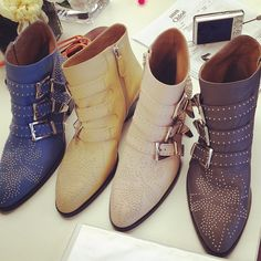 Susanna Boots from Chloé Resort 2013