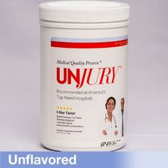 UNJURY Unflavored Protein Container
