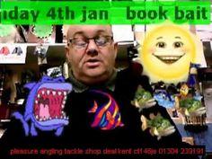 sundays weather @pleasure angling tackle & bait shop deal kent 4th jan