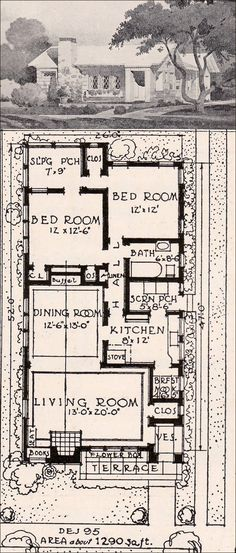 1916 Garden City Plans - Design 95