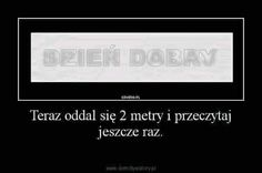 Sam tytuł mówi o tym co tu bd # Losowo # amreading # books # wattpad True Quotes, Words Quotes, Motivational Quotes, Polish Memes, Weekend Humor, Best Memes Ever, Current Mood Meme, Funny Mems, Quality Memes