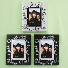 Graduations have to be one of the most photographed events of the year. So, whether it's a parent, grandparent, other relative, friend or the grad him/herself, they're going to need a great way to display those shots and show their pride.
