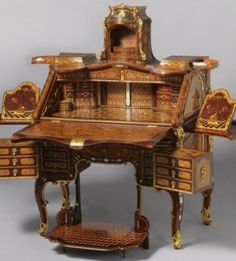 CLASSICS///HITS: Thank God Extravagant Inventions: The Princely Furniture of the Roentgens Exhibit Is Still At The Met