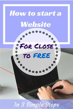 How to start a website almost free