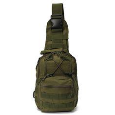 Vente Hot Outdoor Sport Nylon tactique militaire Sling épaule unique poitrine sac Pack camping randonnée sac à dos escalade sac